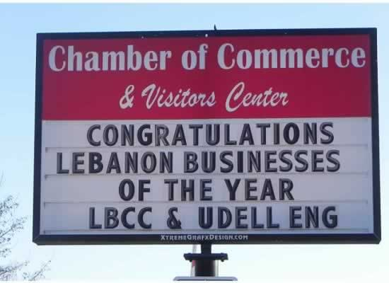 Udell Engineering Lebanon Small Business of the Year